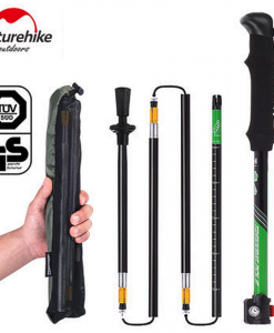 NatureHike Hiking Pole 7075 Aluminum Alloy 5 Sections Alpenstock