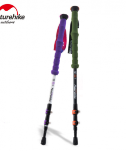 Naturehike Carbon Fiber Hiking Stick Trekking Pole Walking stick antishock