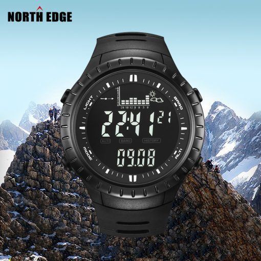 NORTHEDGE Peak Sport Watch Outdoor Altimeter Barometer Thermometer Altitude