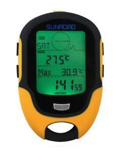 Sunroad FR500 Altimeter Barometer Compass Waterproof Multifunction