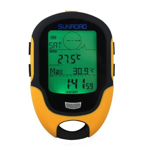 Sunroad FR500 Altimeter Barometer Compass Waterproof Multifunction