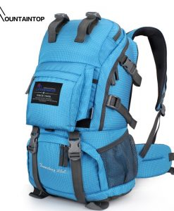 Mountain Top 40L Internal Frame Bag Outdoor Backpack Rain Cover