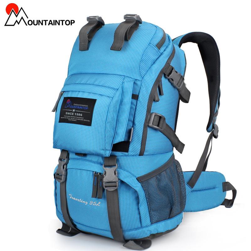 Mountain Top 40L Internal Frame Bag Outdoor Backpack Rain ...