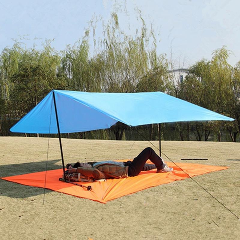 check out 1cecc e06fb Bluefield Tarp Shelter 3x2,9 m Mat Tent Canopy 190T Footprint