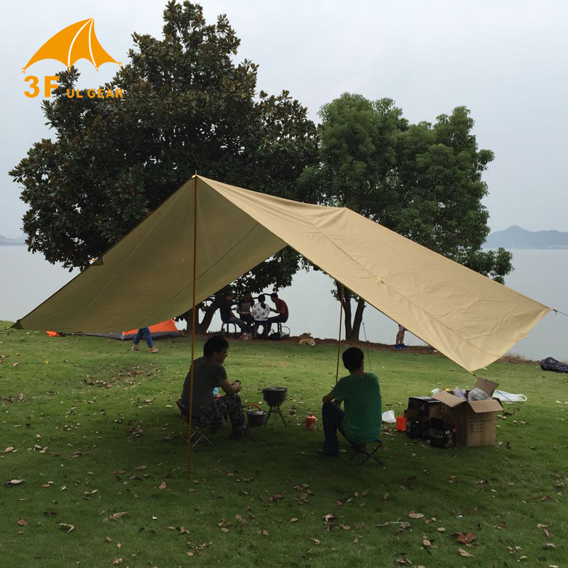3f Ul Gear Tarp Shelter 210t Tent Outdoor Roof Waterproof