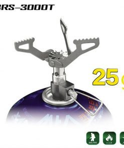 BRS Ultra-light Outdoor Stove Titanium Gas Burner Portable Alloy 25g BRS-3000T