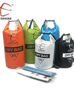 HITORHIKE 15L 25L Dry Bag Ultralight Rafting Hiking Swimming Waterproof Bag