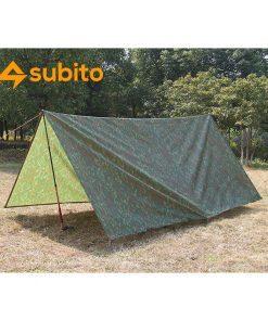 Subito Tarp Shelter Camping Mat 3X3M Ground Fabric