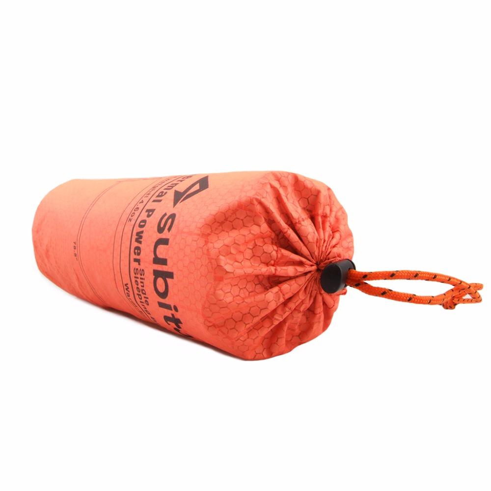 Subito Mummy Emergency Sleeping Bag Outdoor Thermal Reflection