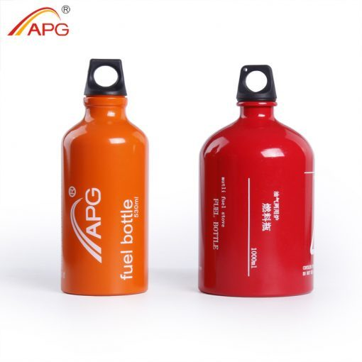 APG Multifuel Bottle Portable 530ML/1000ML Gasoline Petrol Kerosene Alcohol