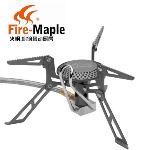 Fire Maple FMS-117T Gas Stove Ultra Light Titanium Alloy Outdoor Cooker Gas Burner