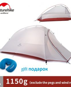 NatureHike Cloud 1 Tent 1 Man Backpacking Ultralight Waterproof