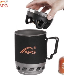 APG cooking system portable hiking trekking gas stove cooking System