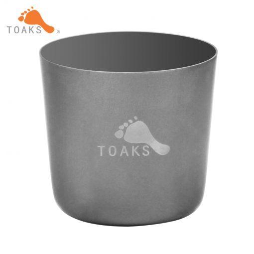 TOAKS Titanium Mini Cup Ultralight Tea Portable Backpacking