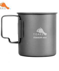 Toaks Titanium Mug Cup Ultralight 300ml/375ml/450ml
