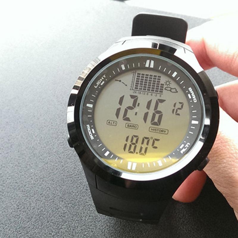 Northedge peak sport watch outdoor altimeter barometer thermometer altitude for Outdoor watches