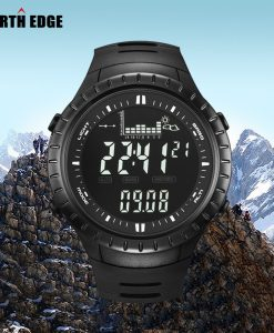 NORTHEDGE Peak Sport Watch Outdoor Altimeter Barometer Thermometer Altitude