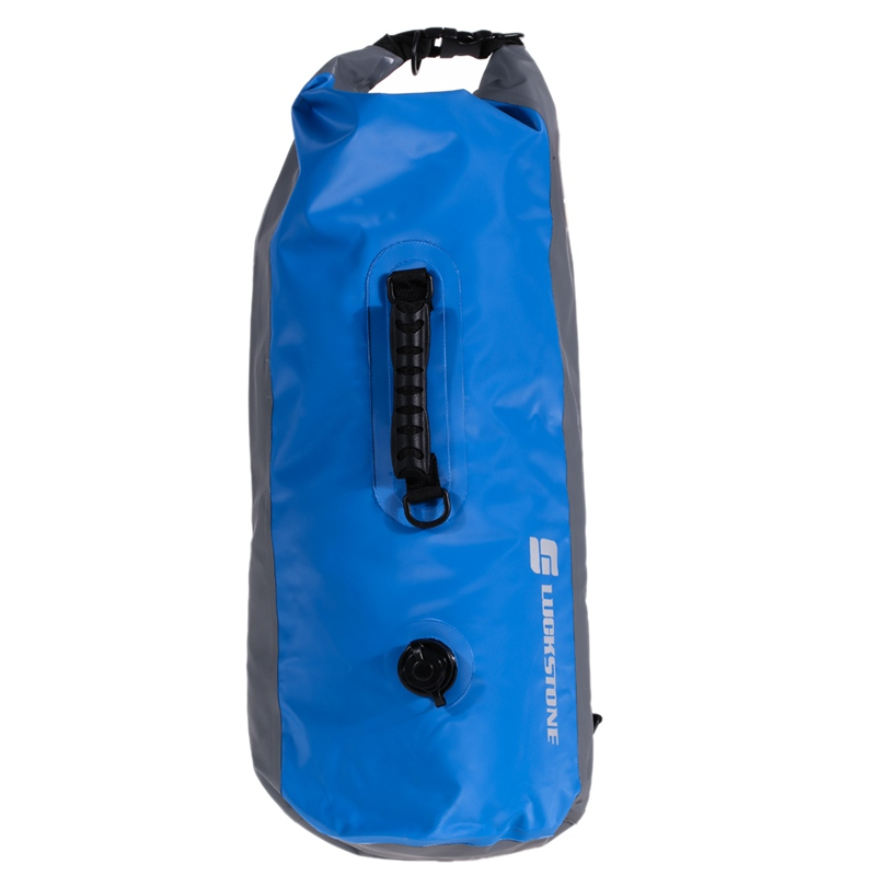 1a0dc8e24b91 Luckstone Drybag 35L Outdoor Waterproof Bags Hiking Rafting Kayaking  Swimming