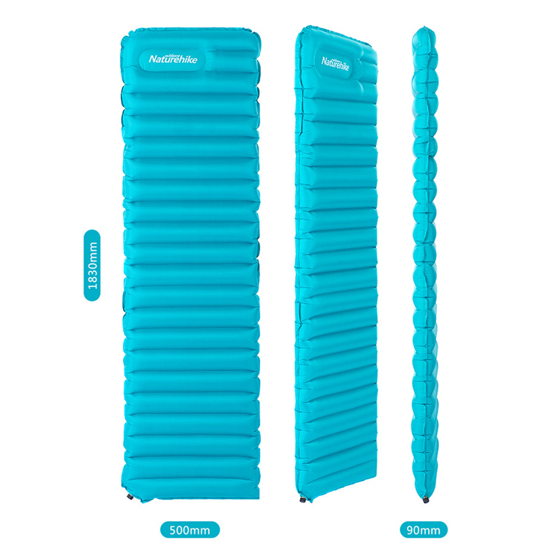 buy popular ccfdc 0714a Naturehike Ultralight Manual Inflatable Sleeping Pad Air Mat Mattress