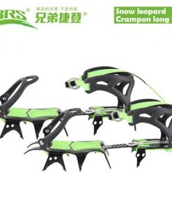 BRS® crampons fourteen teeth long tech mountain equipment climbing gear hiking ice