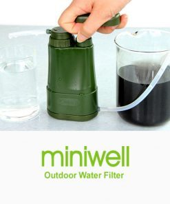MiniWell Water Filter Hiking Travel Kit Outdoor Portable Water