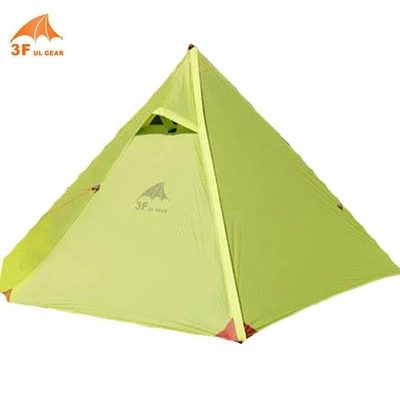 3F UL Ultralight 210T Double Layer Tent 1 Person Waterproof Shelter  sc 1 st  Hiker Outlet : ultralight tent 1 person - memphite.com