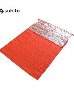 Subito Double Emergency Sleeping Bag Outdoor Survival Blanket