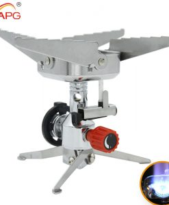 APG outdoor camping stove cooking burners integrated portable gas stove