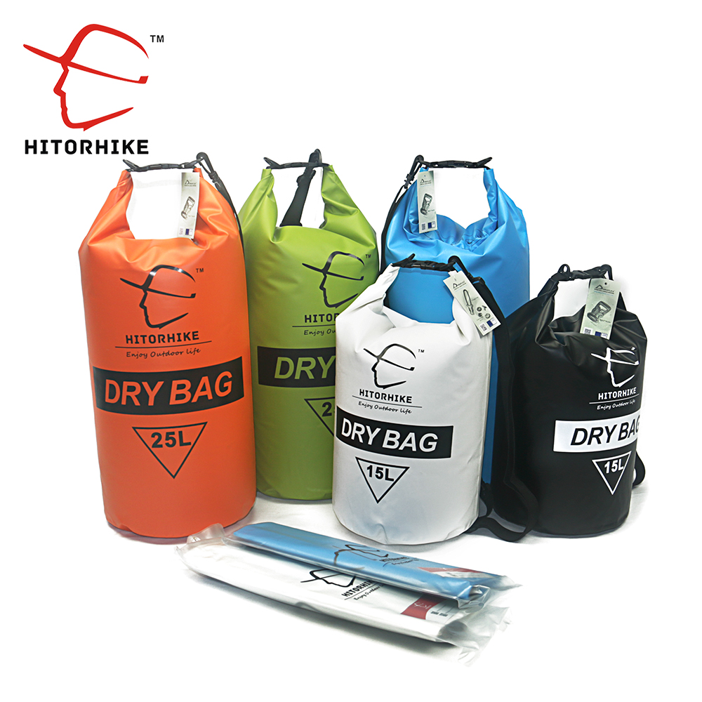 Hitorhike 15l 25l Dry Bag Ultralight Rafting Hiking Swimming Waterproof