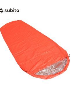 Subito Mummy Emergency Sleeping Bag Outdoor Thermal Reflection