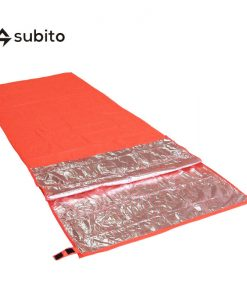 SUBITO Single Emergency Sleeping Bag Outdoor Thermal Reflection Survival Blanket