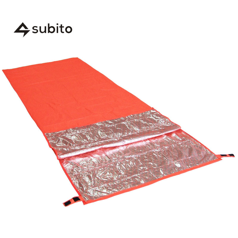 Subito Single Emergency Sleeping Bag Outdoor Thermal Reflection Survival Blanket
