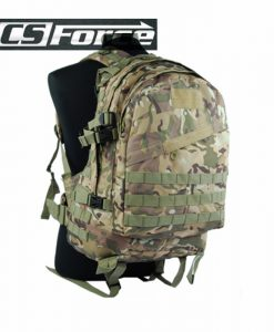 CS Force USMC 3-Day Molle Camel Pack Assault 2-Pocket Backpack Hiking
