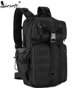 SINAIRSOFT Outdoor Tactical Backpack 1000D Waterproof Army backpack Molle