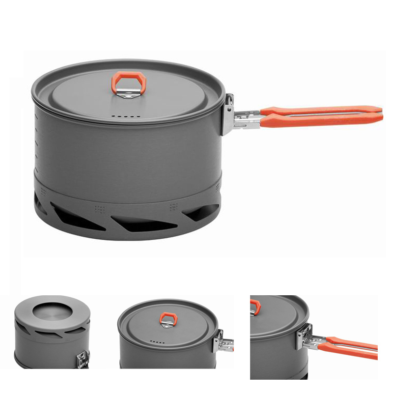 Fire Maple Heat Exchanger Camping Pot Outdoor Cookware Cooking