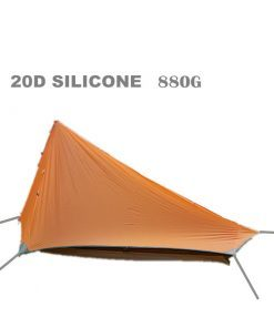 Axemen Black Hawk Tent Ultralight 20D Silicone Fabric Double-layer