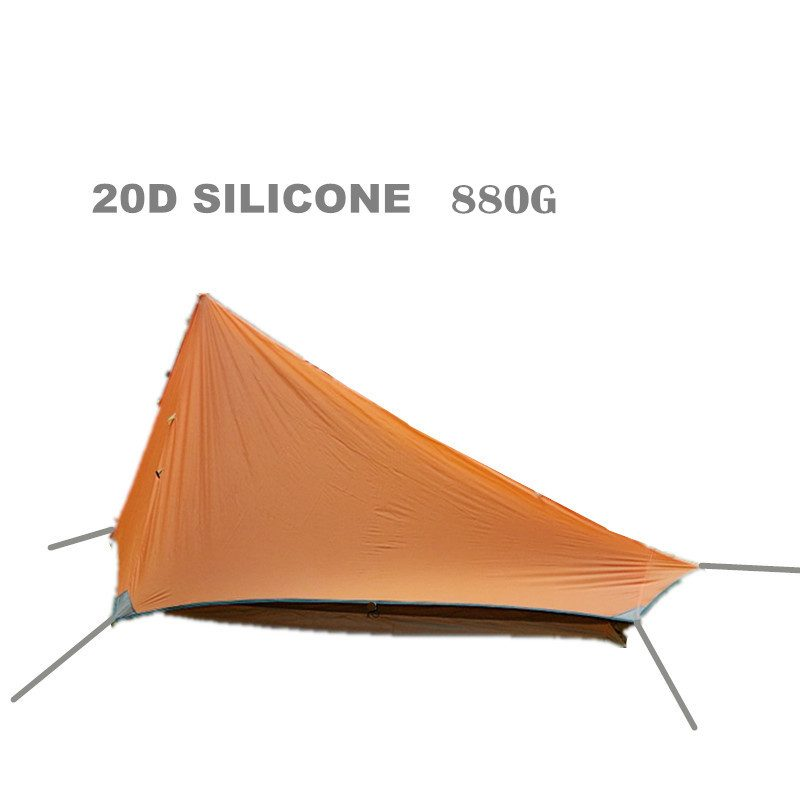 sc 1 st  Hiker Outlet & Axemen Black Hawk Tent Ultralight 20D Silicone Fabric Double-layer