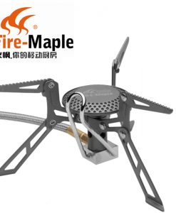 Fire Maple FMS-117T Gas Stove Ultra Light Titanium Alloy Outdoor Cooker Gas Burner