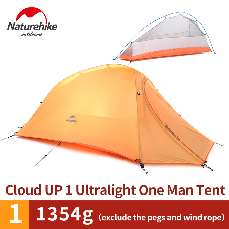 The product is already in the wishlist! Browse Wishlist · NatureHike Cloud 1 Tent 1 Man Backpacking Ultralight Waterproof  sc 1 st  Hiker Outlet & NatureHike Cloud 1 Tent 1 Man Backpacking Ultralight Waterproof