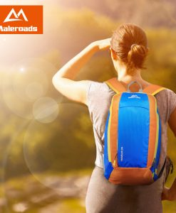 Maleroads Mini Backpack Sports Bag Rucksack Daily Pack 10/20L, a small and light backpack for multi sports and excursions on the outdoors