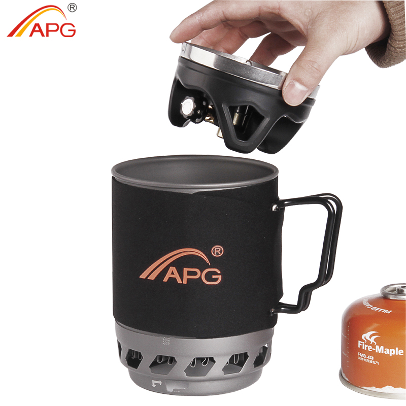 Wondrous Apg Cooking System Portable Hiking Trekking Gas Stove Cooking System Interior Design Ideas Clesiryabchikinfo
