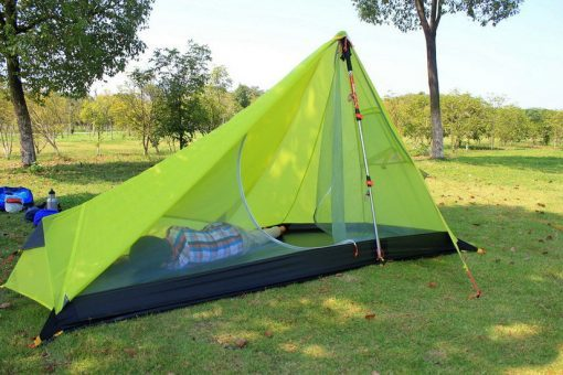 3F UL Ultralight 15D Tent 1 person 1 Layer coated silicon waterproof windproof