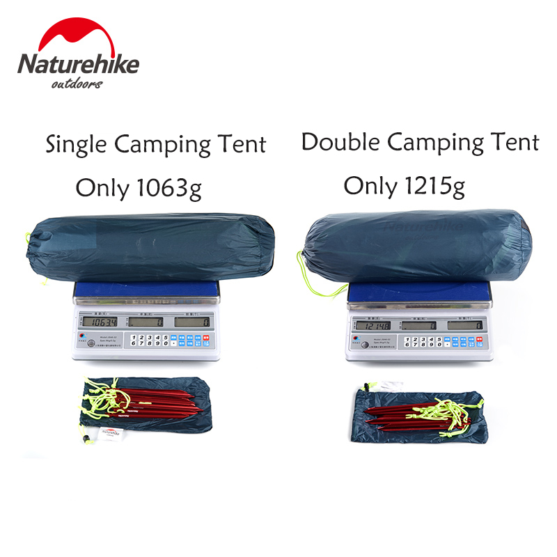 Naturehike Taga Tent 20D Nylon Ultralight 1kg - 1 2kg Waterproof