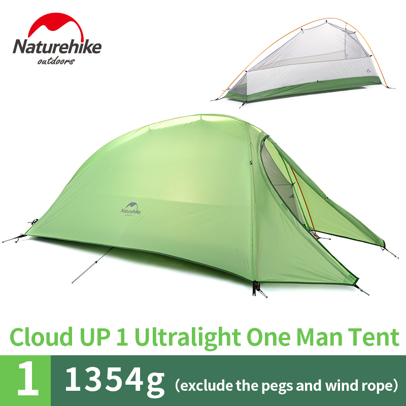 sc 1 st  Hiker Outlet & NatureHike Cloud 1 Tent 1 Man Backpacking Ultralight Waterproof
