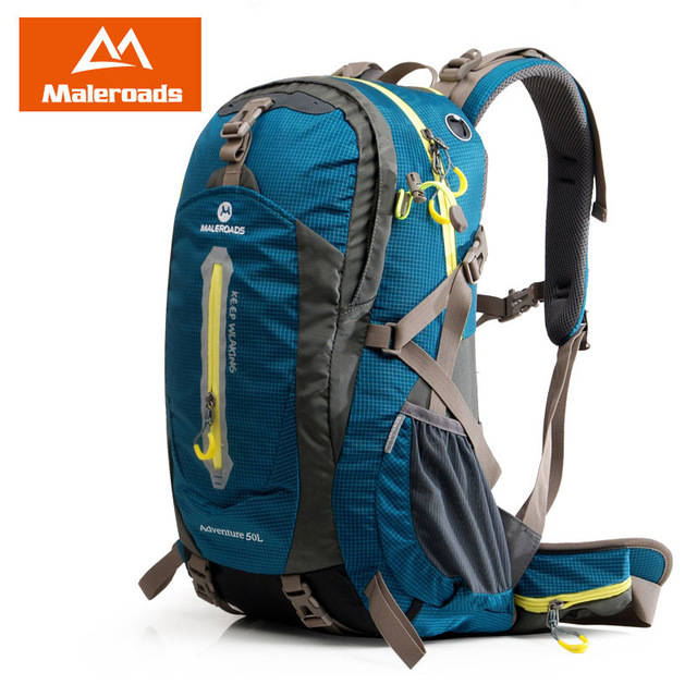 c728bcfc27 Maleroads 50L 40L Backpack Hiking Trekking Rucksack Backpacking