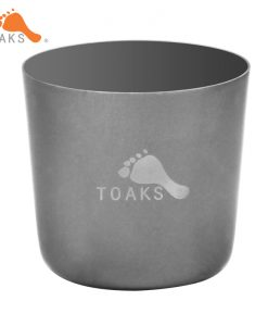 TOAKS Titanium Mini Cup Ultralight Tea Portable Backpacking