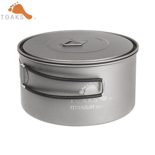 TOAKS Titanium 900ml Cooking Pots Ultralight Titanium