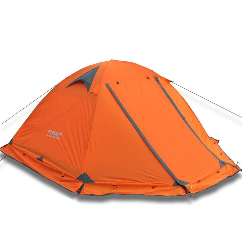 sc 1 st  Hiker Outlet & Flytop 4 Seasons tent double layer 2 person aluminum rod snow skirt