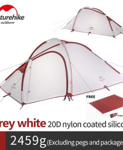 Naturehike Hiby 4 Seasons Tent 20D Silicone Double-Layer 3 Person