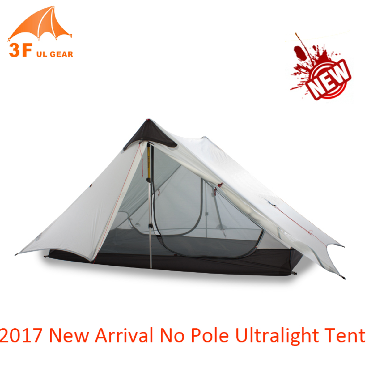 3f UL Lanshan Tent 1 person 2 Person ultralight tent 2 layer  sc 1 st  Hiker Outlet & UL Lanshan Tent 1 person 2 Person ultralight tent 2 layer